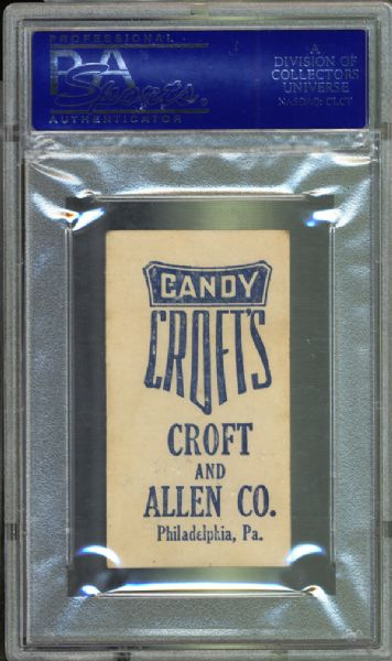 1909 E92 Croft's Candy Cy Young PSA 4 VG/EX