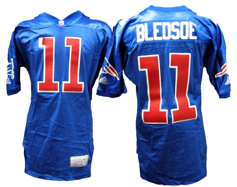 Lot Detail - 1993 Drew Bledsoe New England Patriots Game-Used Rookie ... b485c5a70