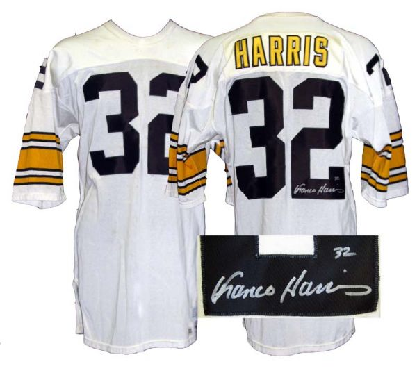 buy online 0f48b a82a7 Lot Detail - 1983 Franco Harris Pittsburgh Steelers Game ...