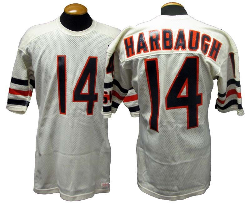 5d27a98cbcd Lot Detail - 1987 Jim Harbaugh Chicago Bears Game-Used Road Jersey
