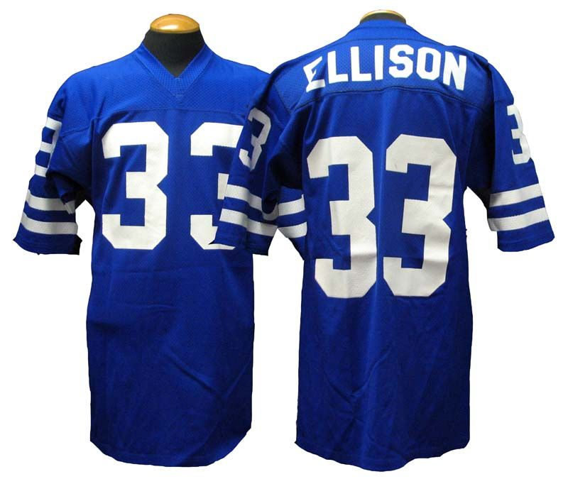 Lot Detail 1960s 70s Willie Ellison Los Angeles Rams Game Used Jersey