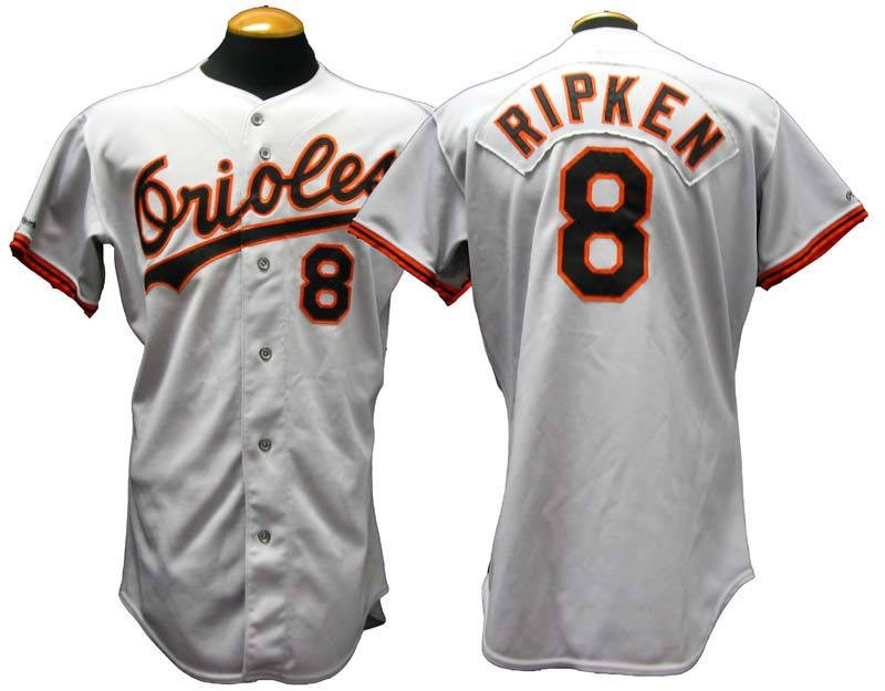 f9246f9db Lot Detail - 1991 Cal Ripken Jr. Baltimore Orioles Game-Used Jersey