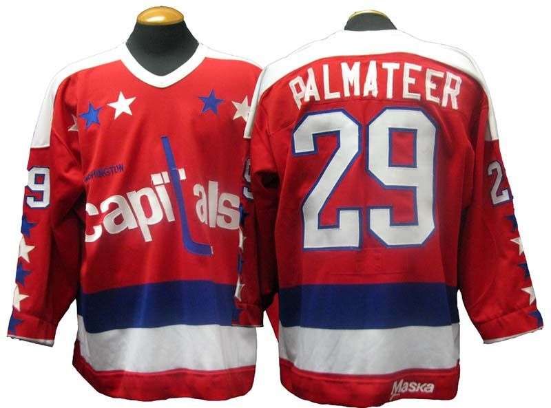 Lot Detail - 1980-81 Mike Palmateer Washington Capitals Game-Used Jersey f82883e4f2a2