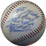Spectacular Early Career Roberto Clemente Single-Signed ONL (Giles) Ball PSA/DNA 9 MINT
