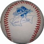 Kirby Puckett Single-Signed 1987 World Series Ball