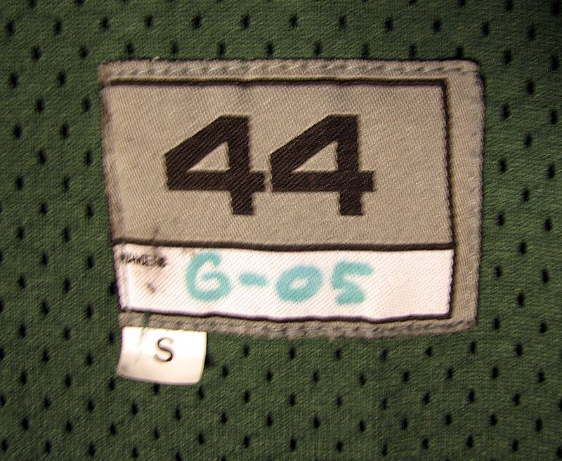 frank gore game worn jersey