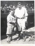 1928 Type I  Babe Ruth AP Photograph