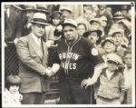 Babe Ruth and Christy Walsh Type 1 Photograph