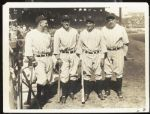Ruth, Gehrig, Lazzeri & Combs Type 1 Photograph