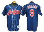 1995 Carlos Baerga Cleveland Indians Game-Worn World Series Jersey With Special World Series Patch