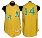 1965 Kansas City As John Blanchard Game-Used Jersey