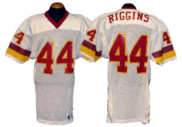 premium selection 0bdfb f8f1a Lot Detail - 1980s John Riggins Washington Redskins Game ...