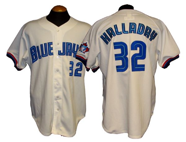 newest collection f55a2 b9330 Lot Detail - 1999 Roy Halladay Toronto Blue Jays Game-Used ...