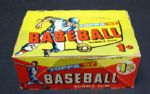 1957 Topps Baseball 1 Cent Display Box