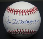 Joe DiMaggio Single Signed Sweet Spot Baseball PSA/DNA GEM MINT 10