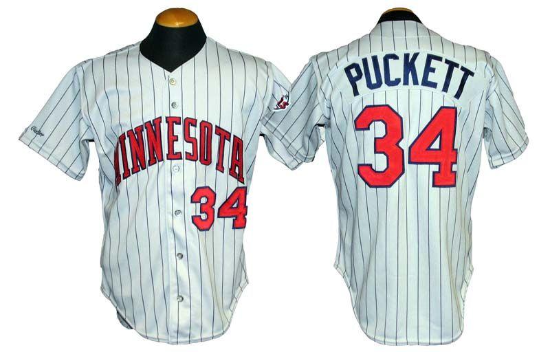 kirby puckett jersey