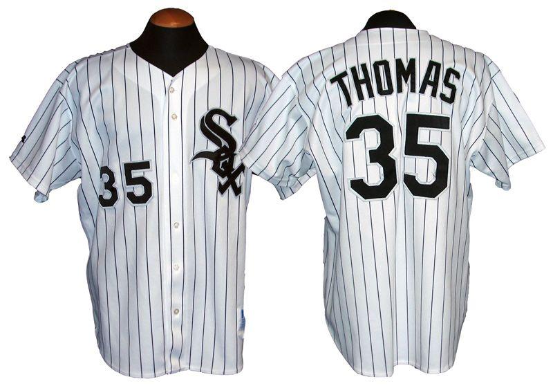 sale retailer bd343 c4418 White Jersey Frank Thomas Chicago Sox permanent.modatrent.com