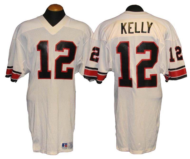 77b360086 Lot Detail - 1984-85 Jim Kelly USFL Houston Gamblers Game-Used Jersey