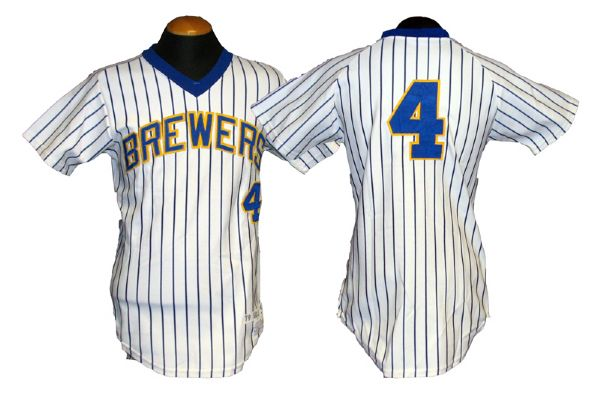 new product 62fdf 3d0a1 Lot Detail - 1979 Paul Molitor Milwaukee Brewers Game-Used ...