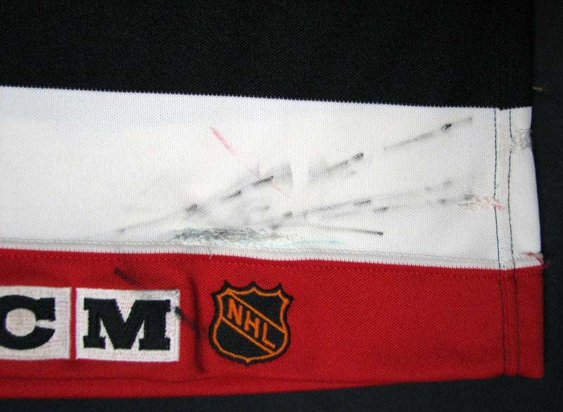 610585876 ... 1991-92 Chris Chelios Chicago Blackhawks Game-Used Jersey with Team LOA  ...