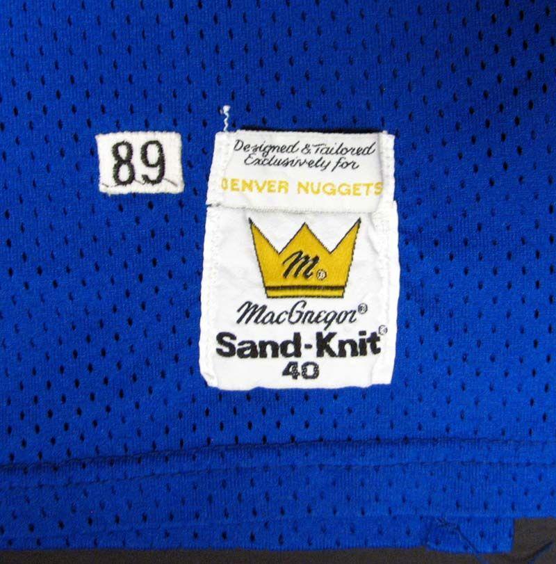 1989-90 Michael Adams Denver Nuggets Game