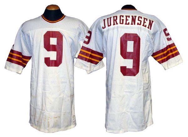 Lot Detail - 1970s Sonny Jurgensen Washington Redskins Game-Used ...