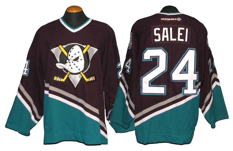 Lot Detail - 2003-04 Ruslan Salei Mighty Ducks of Anaheim Game-Used ... f465efae6