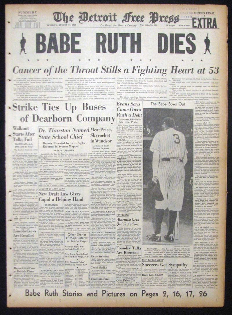 babe ruth essay Research papers research paper (paper 2093) on babe ruth: babe ruth changed the game of baseball george herman.