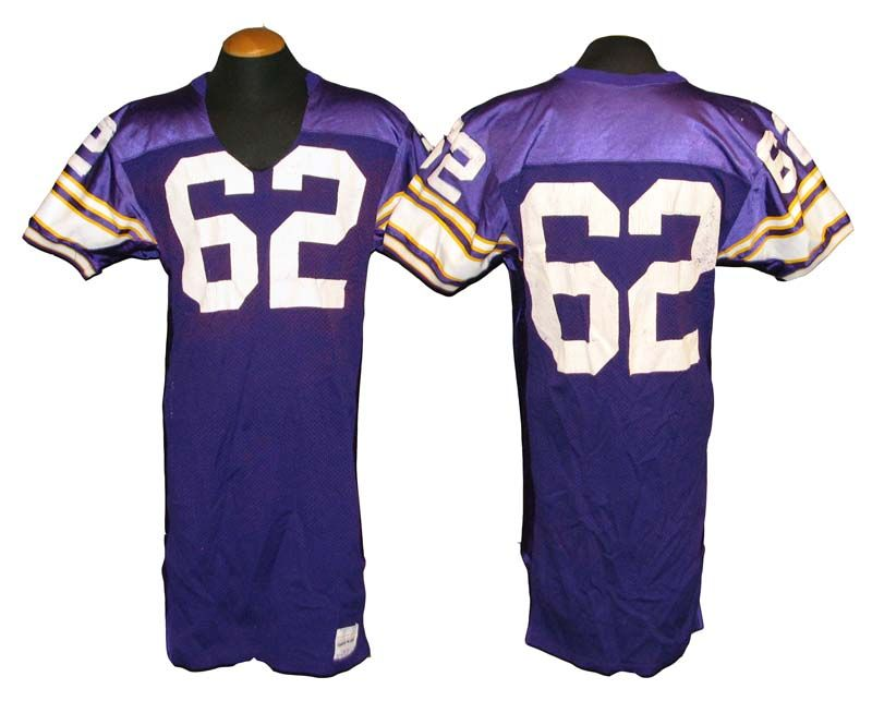 the best attitude 7ed38 a7629 Lot Detail - 1987-1991 Chris Foote Minnesota Vikings Game ...