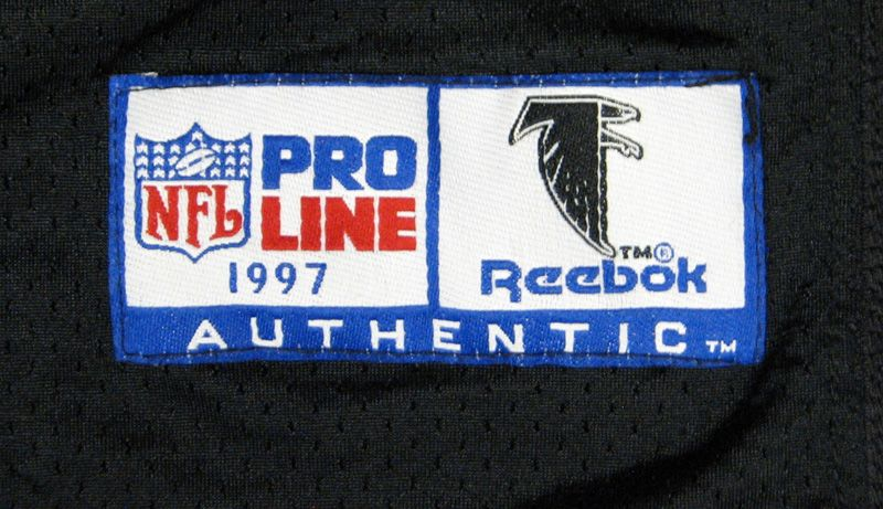 81d8fc553 ... 1998 Eugene Robinson Atlanta Falcons Super Bowl XXXIII Game-Worn Jersey  Photomatched ...