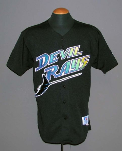 f4dc8a136d5 Lot Detail - 1998 Wilson Alvarez Tampa Bay Devil Rays Game-Used Jersey