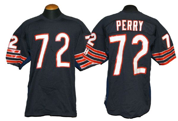 super popular 80f3d faa7b Lot Detail - 1980s William Perry Chicago Bears Rookie Era ...