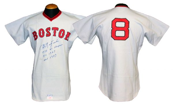 outlet store 704a7 ff7c2 Lot Detail - 1975 Carl Yastrzemski Boston Red Sox Game-Used ...