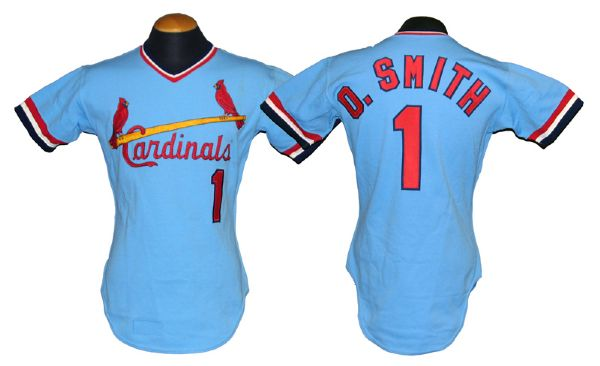 new arrival 144ae ce692 Lot Detail - 1982 Ozzie Smith St. Louis Cardinals ...