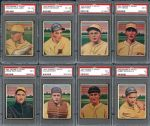 Exceedingly Scarce 1933 George C. Miller Complete Set Completely PSA Graded- One Of The Finest Complete Sets In The Hobby