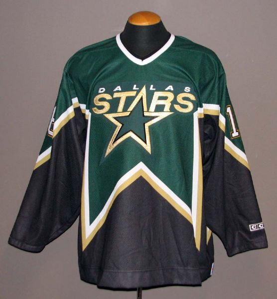 newest collection 78031 d6fb2 Lot Detail - Brett Hull Autographed Dallas Stars Jersey
