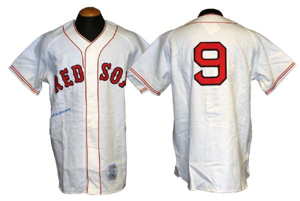 promo code 242ca 1061e Lot Detail - Ted Williams Signed Mitchell and Ness Boston ...