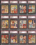 1935 Goudey 4-in-1 Complete Set All PSA Graded