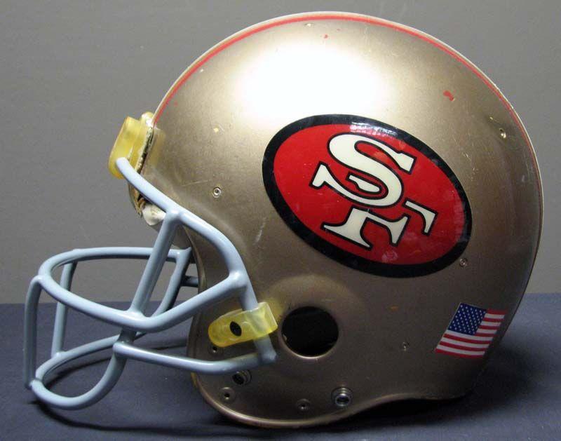 1980s Joe Montana San Francisco 49ers Game-Used and Signed Helmet ... 2c732c44e