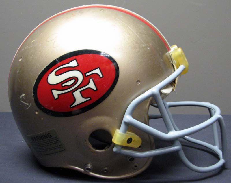 ... 1980s Joe Montana San Francisco 49ers Game-Used and Signed Helmet ... 54287ce76