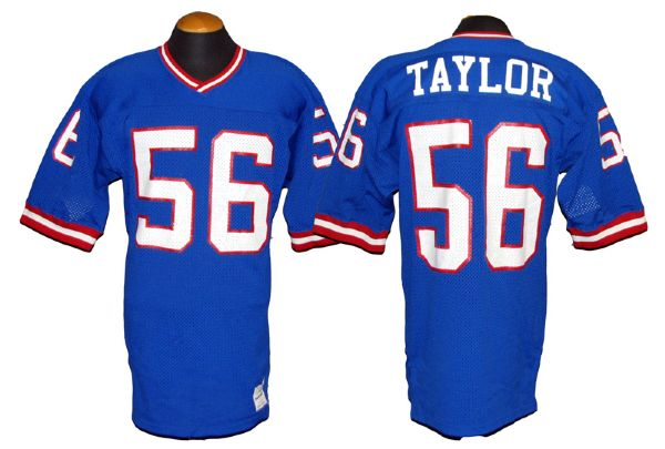 Circa 1990 Lawrence Taylor New York Giants Game-Used Jersey