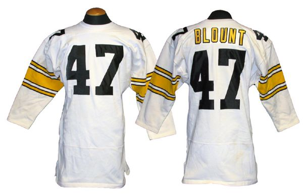 Lot Detail - 1970s Mel Blount Pittsburgh Steelers Game-Used Cold ...