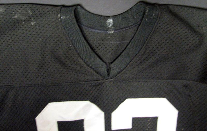 marcus allen game worn jersey