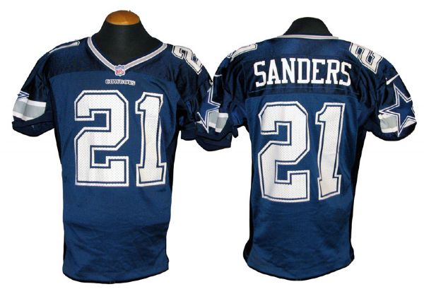 online store 61a9a c1ad0 Lot Detail - 1997 Deion Sanders Dallas Cowboys Game-Used Jersey