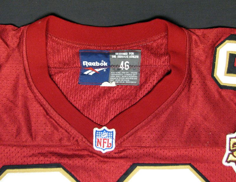 5638ed05c 1996 Jerry Rice San Francisco 49ers Game-Used Jersey .