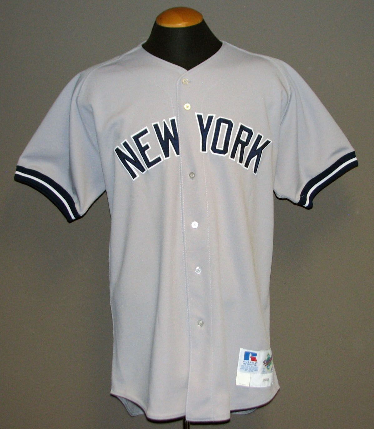 Lot Detail - 1998 Derek Jeter New York Yankees Game-Used Road Jersey ... 6d290759bec