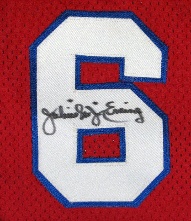 d79885a2 Lot Detail - Julius Erving Signed Philadelphia 76ers Replica Jersey