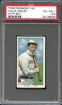 1909 T206 Piedmont 150 Willie Keeler with Bat PSA 4.5 VG/EX+