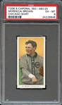 1909 T206 Mordecai Brown PSA 6 EX/MT