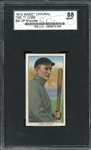1909 T206 Sweet Caporal Ty Cobb Bat Off Shoulder SGC 88 NM/MT 8